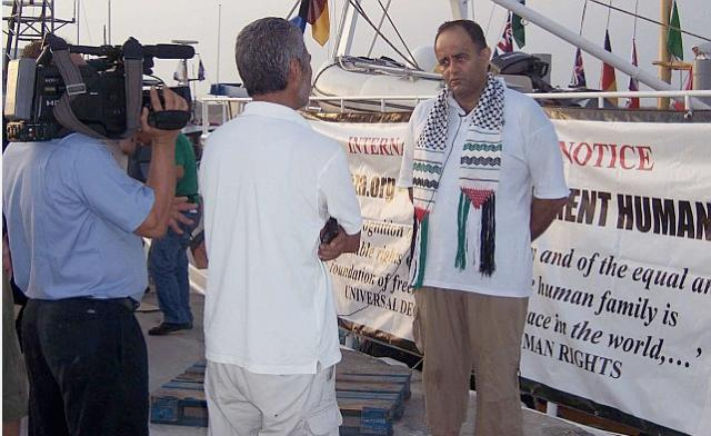 Palestinian Human Rights Activist Musheir El-Farra